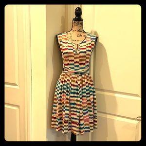 Maeve multi colored dress